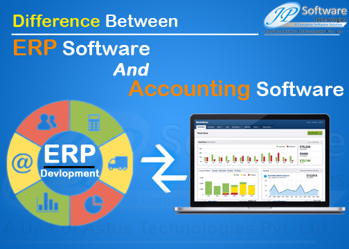Difference Between ERP and Accounting Software