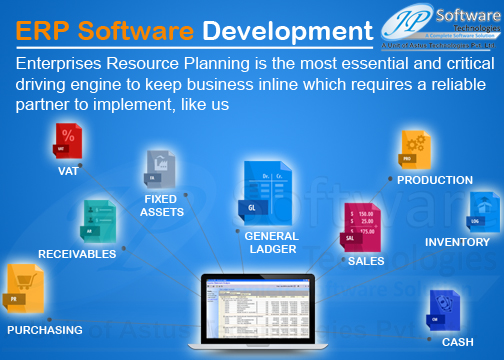JP Software Technologies ERP Software Solution