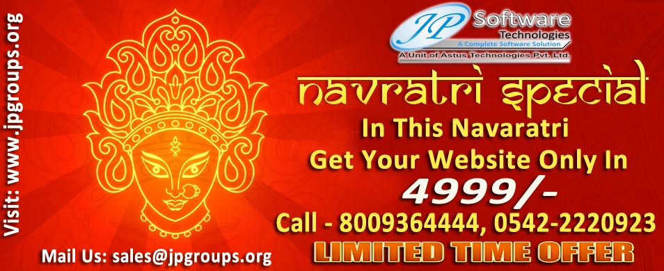 Navratri Special JP Software Technologies